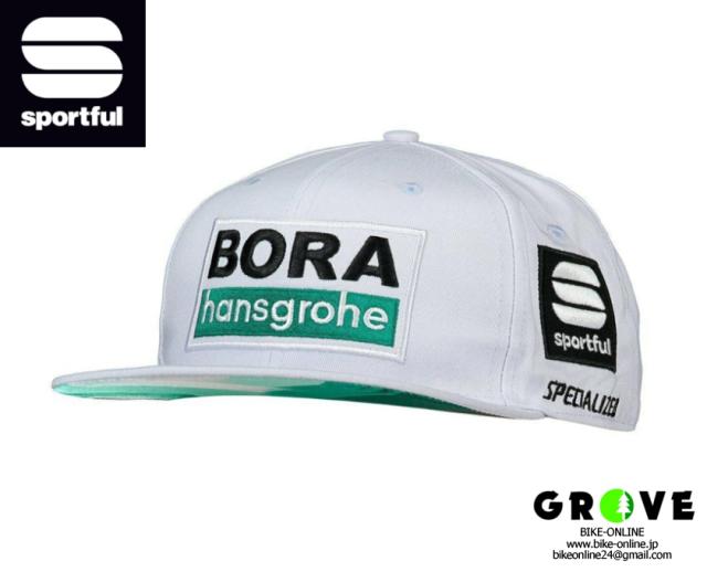 sportful スポーツフル [ BORA-hansgrohe Snapback Cap ] White 【GROVE青葉台】