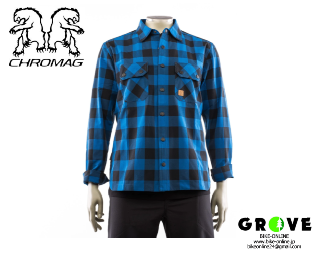 CHROMAG クロマグ [ Burke Tech Shirt ] Blue 【GROVE青葉台】