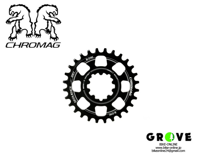 CHROMAG クロマグ [ Sequence Direct Mount BB30 30T ] BLACK 【GROVE青葉台】