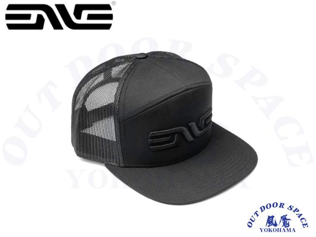 ENVE Composites エンヴィ [ 3D LOGO 7PANEL HAT ] BLACK 【風魔横浜】