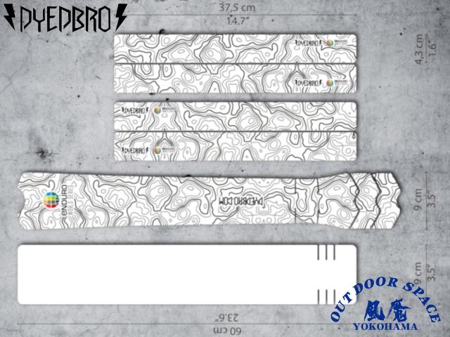 DYEDBRO ダイブロ [ EWS Enduro Warld Series ] フレームプロテクションキット 【風魔横浜】