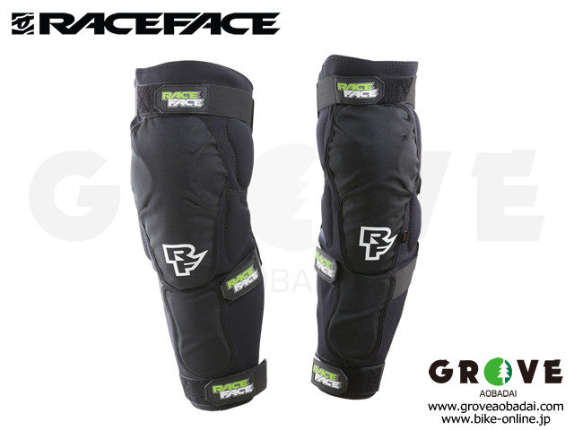 RACEFACE レースフェイス  [ FLANK LEG GUARD ] 耐衝撃 ニー ガード D3O プロテクター 【GROVE青葉台】