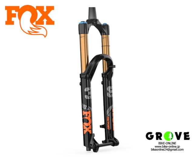 """FOX RACING SHOX フォックスレーシングショックス [ 38 FLOAT 29 160mm 1.5T """"Factory 2022 ] 【GROVE青葉台】"""