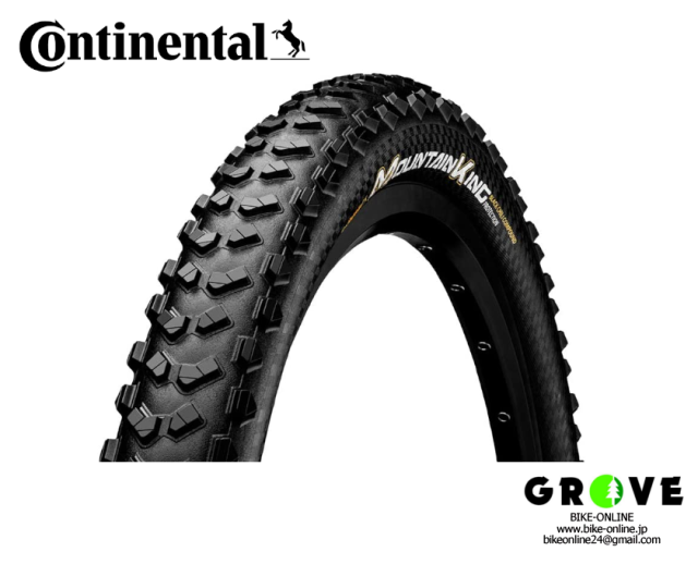 Continental コンチネンタル [Mountain King Pro Tection マウンテンキング] 29×2.3 BLACK 【GROVE宮前平】