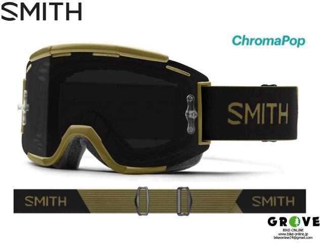 SMITH スミス [ Squad XL MTB Goggle ゴーグル ] Mystic Green - ChromaPop Sun Black 【GROVE青葉台】