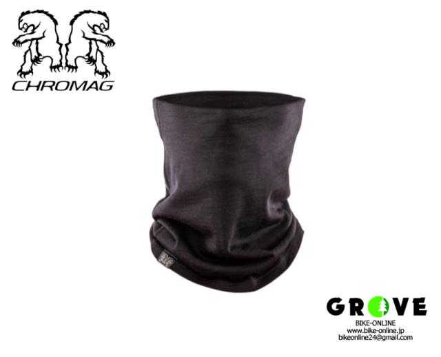 CHROMAG クロマグ [ Season Neck Gaiter ] BLACK 【GROVE青葉台】