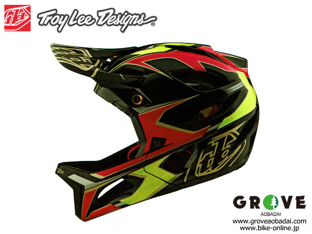 TroyLeeDesigns トロイリーデザインズ [ STAGE Helmet Mips 2020 ] ROPO - PINK/Yellow  フルフェイス ヘルメット 【GROVE宮前平】