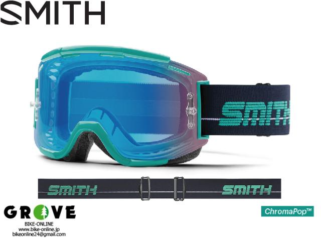 SMITH スミス [ Squad MTB Goggle ゴーグル ] Jade/Indigo - ChomaPOP Contrast Rose Flash 【GROVE青葉台】
