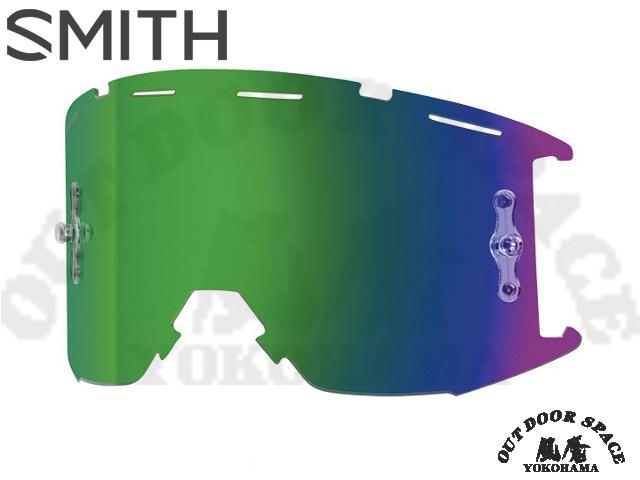 SMITH スミス [ Squad MTB Goggle リプレースメント・レンズ ] ChromaPop Sun Green Mirror 【風魔横浜】