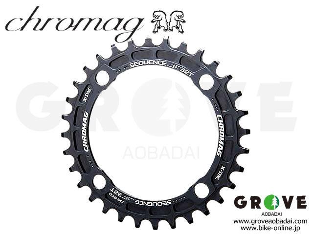 CHROMAG クロマグ [ Sequence X-SYNC Chainring チェーンリング ] 32T ブラック 【GROVE青葉台】