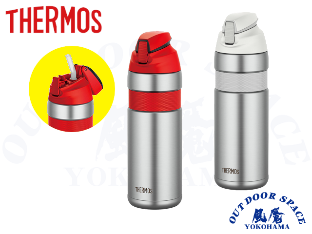 THERMOS サーモス [ 真空断熱ストローボトル ] FFQ-600 【風魔横浜 】