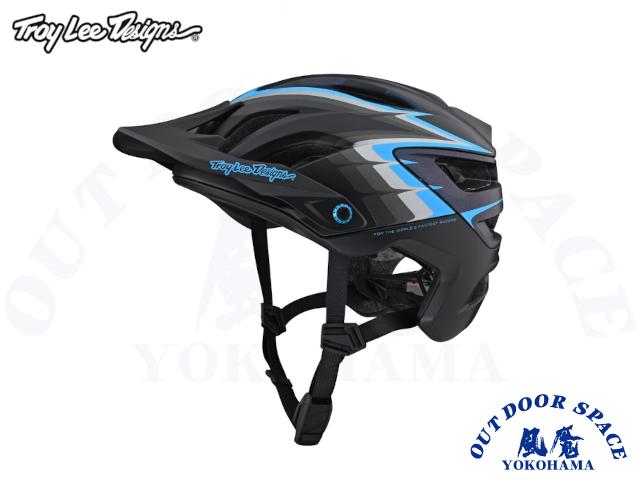 TroyLeeDesigns トロイリーデザインズ [ A3 Helmet Mips 2021 ] SIDEWAY BLACK  [ 風魔横浜 ]