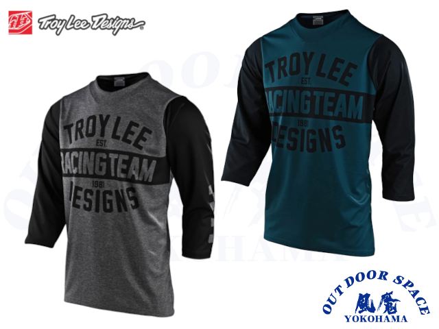 TroyLeeDesigns トロイリーデザインズ [ 2021 RUCKUS JERSEY 3/4 TEAM 81  ]  【風魔横浜】