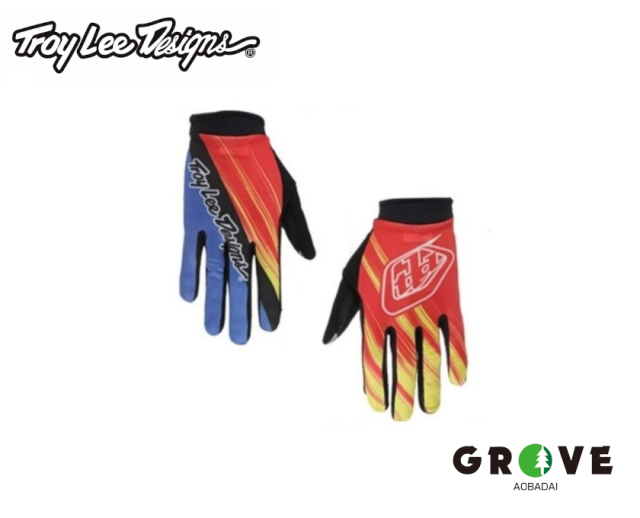 Troy Lee Designs トロイリーデザインズ [ ZINK GLOVE ] RED/YELLOW  【 GROVE青葉台 】