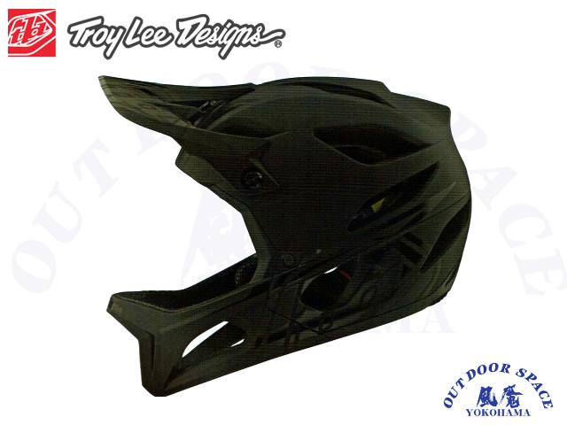 TroyLeeDesigns トロイリーデザインズ [ STAGE Helmet Mips 2020 ] STEALTH - Midnight  フルフェイス ヘルメット 【風魔横浜】
