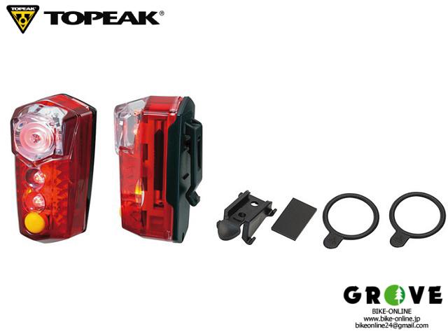 TOPEAK トピーク [ Red Lite Mega ] リア電池式ライト  【 GROVE青葉台 】