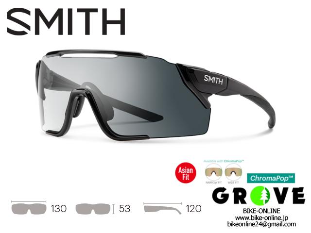 SMITH スミス [ ATTACK MTB ] Photochromic Clear to Gray [調光] / ChromaPop Low Light Amber 【 GROVE鎌倉 】