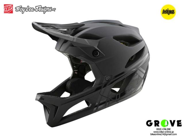TroyLeeDesigns トロイリーデザインズ [ STAGE Helmet Mips 2021 ] STEALTH - Midnight  フルフェイス ヘルメット 【GROVE青葉台】