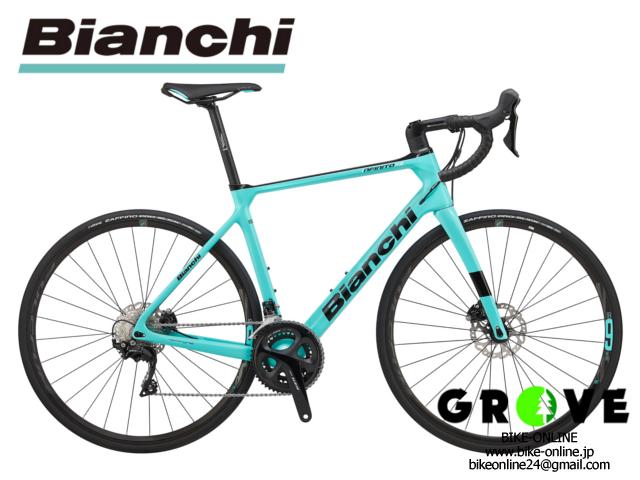 Bianchi ビアンキ [INFINITO XE DISC 105] CK16(チェレステ) / 53サイズ 【 GROVE鎌倉 】