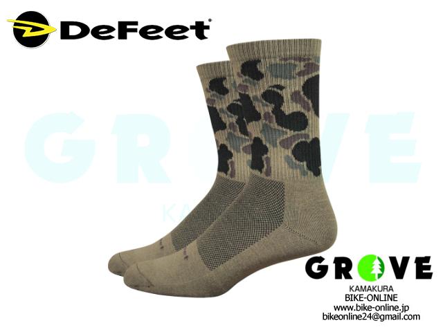 DeFeet [ Levitator Trail 6inch Socks ] Duck Camo / M 【 GROVE鎌倉 】