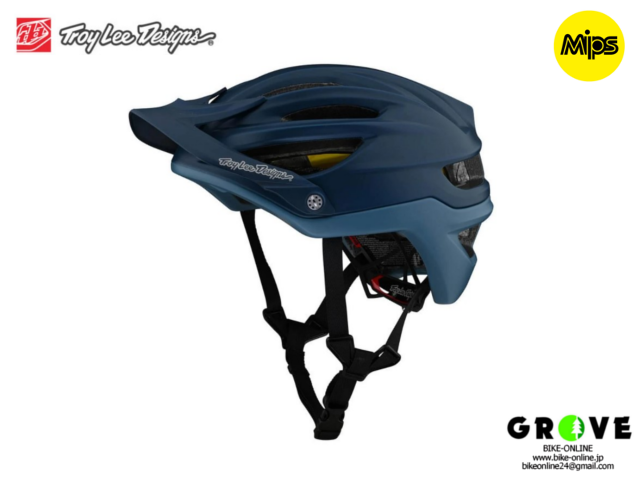 TroyLeeDesigns トロイリーデザインズ [ A2  Helmet Mips 2021 ] DECOY SMOKEY BLUE ハーフ ヘルメット 【GROVE宮前平】