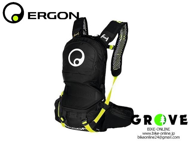 ERGON エルゴン [ BE2 ENDURO ] ブラック / レイザーレモン 【 GROVE宮前平 】