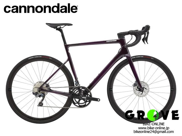 cannondale キャノンデール [ SUPERSIX EVO CARBON DISC ULTEGRA ] Purple / 51size 【 GROVE鎌倉 】