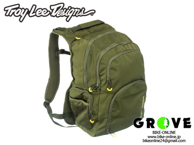 TroyLeeDesigns トロイリーデザインズ [ GENESIS BACKPACK ] ARMY GREEN 【 GROVE青葉台 】
