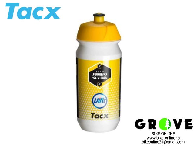 Tacx タックス  [ SHIVA PRO TEAM JUMBO VISMA BOTTLE 500ml ] シヴァ プロ ユンボ・ヴィスマチーム ボトル 【 GROVE青葉台 】