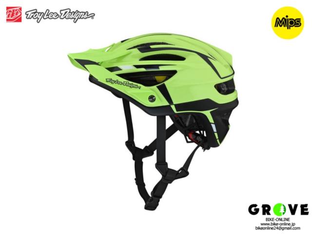 TroyLeeDesigns トロイリーデザインズ [ A2  Helmet Mips 2021 ] SLIVER GREEN / GRAY ハーフ ヘルメット 【GROVE青葉台】