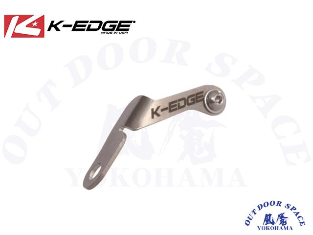 K-EDGE ケーエッジ [ ナンバーホルダー ]  シルバー【風魔横浜】