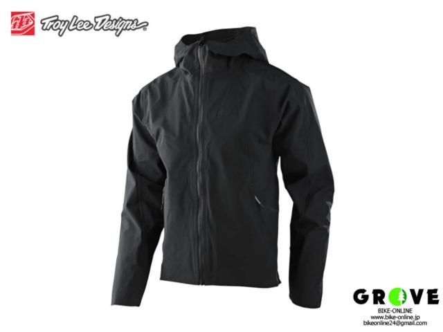 TroyLeeDesigns トロイリーデザインズ [ DESCENT JACKET SOLID BLACK ] M size 【 GROVE青葉台】