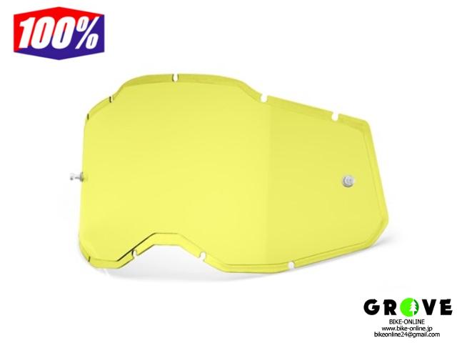 100% [ RAS2 レンズ INJECTED ] HD Yellow 【 GROVE青葉台 】