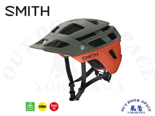 SMITH スミス [ Forefront 2 Helmet - MIPS ] Matte Sage/Red Rock 【風魔横浜】