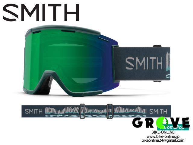 SMITH スミス [ Squad XL MTB Goggle ゴーグル ] Rocky Mountain - ChromaPop Everyday Green Mirror / Clear 【 GROVE鎌倉 】