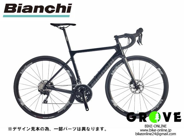 Bianchi ビアンキ [ SPRINT DISC 105 ] BLACK / 47サイズ 【 GROVE鎌倉 】