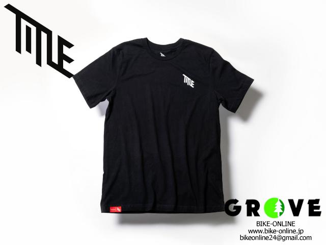 TITLE タイトル [ T-Shirt ] BLACK 【 GROVE鎌倉 】