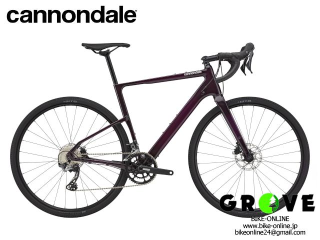 cannondale キャノンデール [ Topstone Carbon 5 ]  Purple 【 GROVE鎌倉 】