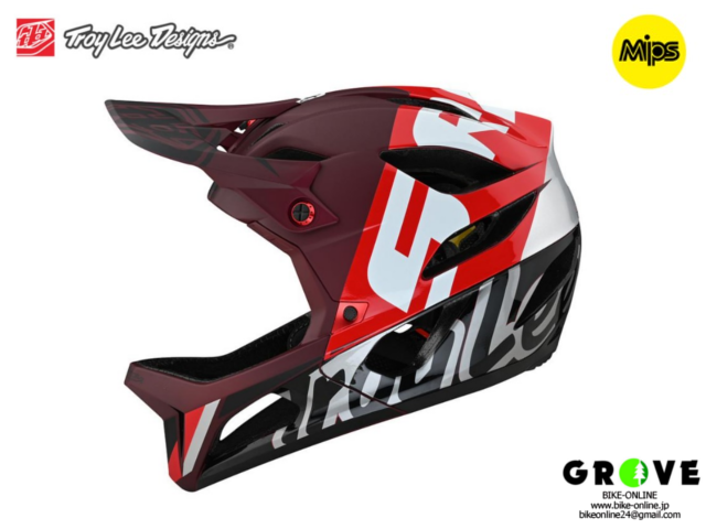 TroyLeeDesigns トロイリーデザインズ [ STAGE Helmet Mips 2021 ] NOVA SRAM BURGUNDY フルフェイス ヘルメット 【GROVE青葉台】