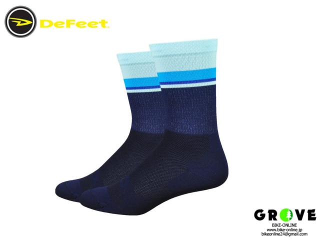 DeFeet [ LE 6 Navy w/Light Blue ] Mサイズ 【 GROVE青葉台 】