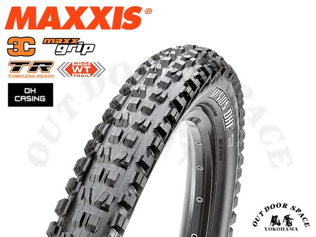MAXXIS [ MINION DHF 3C MaxxGrip TR DH casing ] 27.5×2.5 WT 【風魔横浜】