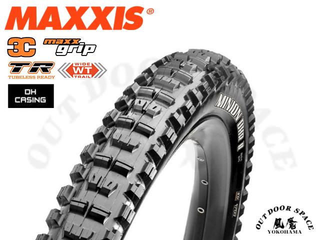 MAXXIS [ MINION DHR 2  3C MaxxGrip TR DH casing ] 27.5×2.4 WT 【風魔横浜】