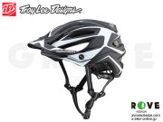 Troy Lee Designs トロイリーデザインズ [ A2  Helmet Mips 2019 ] DROPOUT - Black/White Mサイズ ハーフ ヘルメット 【GROVE青葉台】