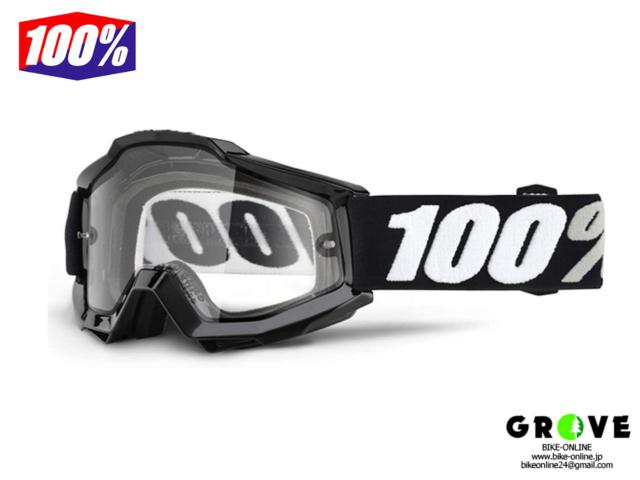 100% [ Accuri 2  OTG アキュリ Goggle ゴーグル ] BLACK 【GROVE青葉台】