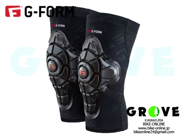 G-FORM ジーフォーム [ PRO-X ニー パッド ] ※NEWグラフィック BLACK 【 GROVE鎌倉 】