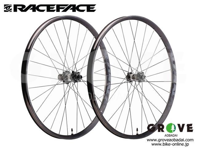 "Race Face レースフェイス  [ AEFFECT R.30 27,5"" Boost ] Wheel F&R Set / Shimano対応 【GROVE青葉台】 ※送料無料"