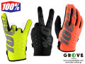 100% Goggle [ BRISKER Gloves ] 防寒グローブ Black/Yellow/Cal-Trans 【GROVE青葉台】
