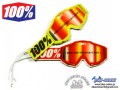 100% Goggle [ AIR FRESHENERS ] RED/YELLOW 【GROVE青葉台】