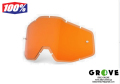 "100% [ Replacement ""Injected"" H,パーシモン  Anti-Fog ] fit for Racecraft, Accuri & Strata Goggle 【GROVE青葉台】"