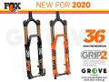 FOX RACING SHOX 2020 [ 36 FLOAT 160/170/180 FIT Grip2 HSC/LSC HSR/LSR 15QR 1.5T 44mm ] FACTORY 【BIKE-ONLINE】 ※メーカー在庫より お取り寄せ
